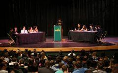 Sophomores wrap up debates