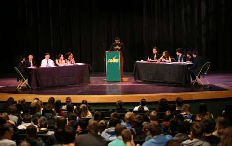 Sophomores wrap up debates