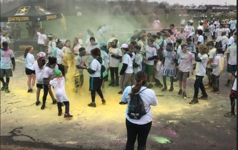 Dust clears from Color Run