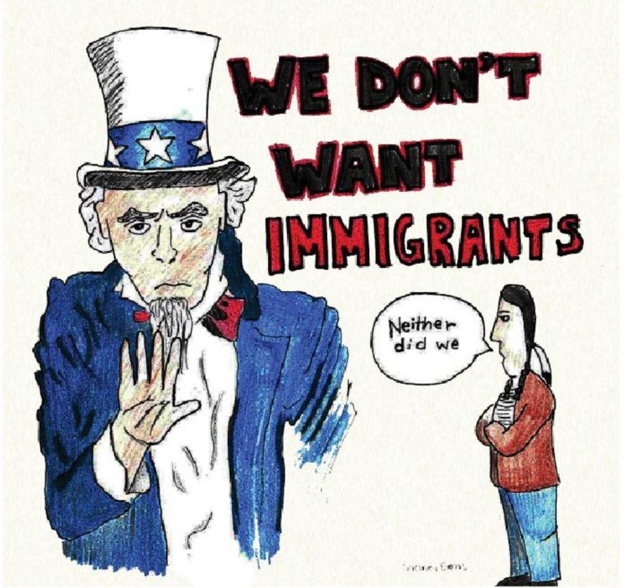 HISTORY. Immigration policy is both a key issue to the current administration. However, immigration is about far more than legislation; its effects can be seen in every crevice of this country. The stories of both the United States and SHS are rooted in immigration.