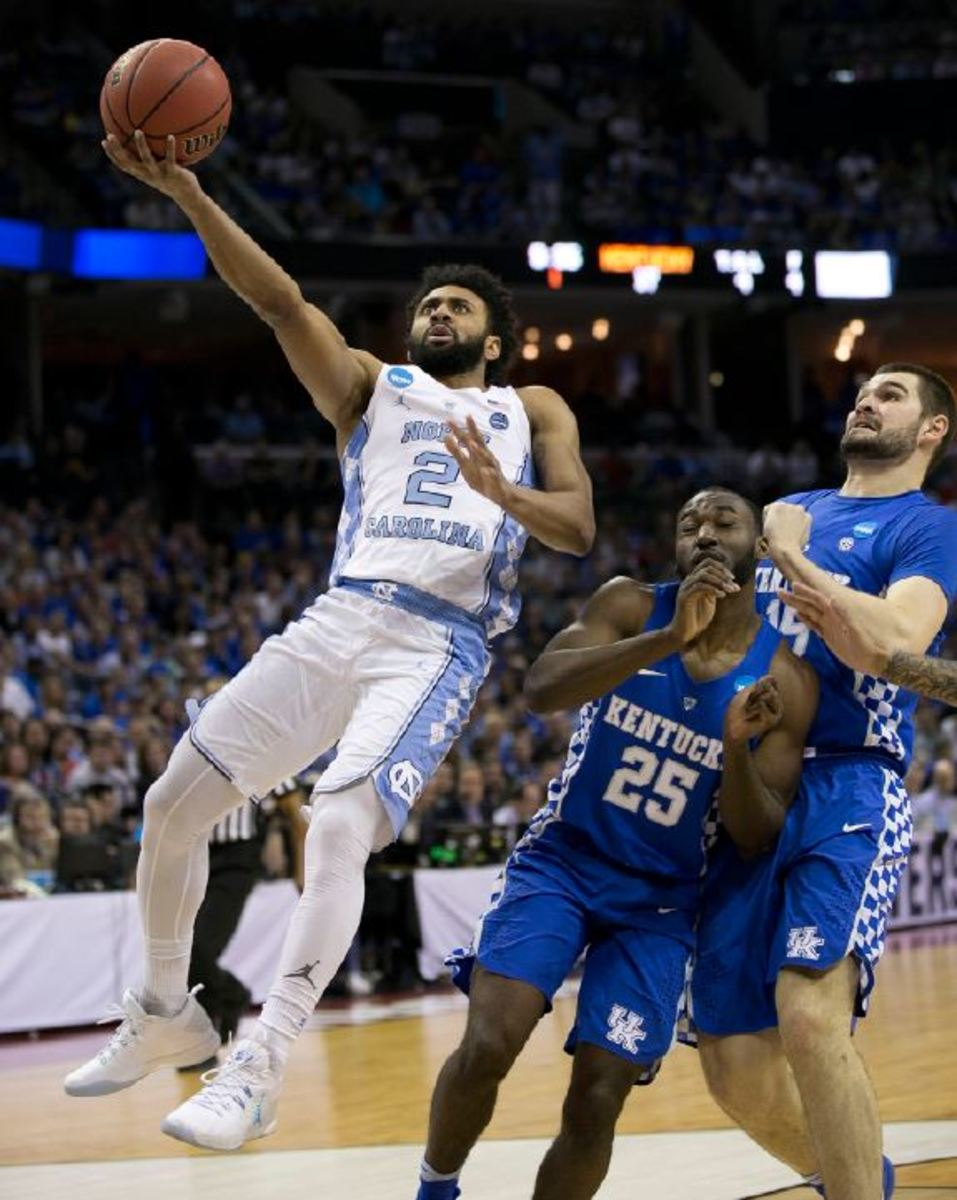 THREE%2C+TWO%2C+ONE.++UNC+takes+down+Kentucky+in+the+elite+eight.++This+was+a+very+close+game+that+came+down+to+game+changing+seconds.++UNC+ultimately+played+the+better+game+as+they+spring+ahead+to+the+final+four.