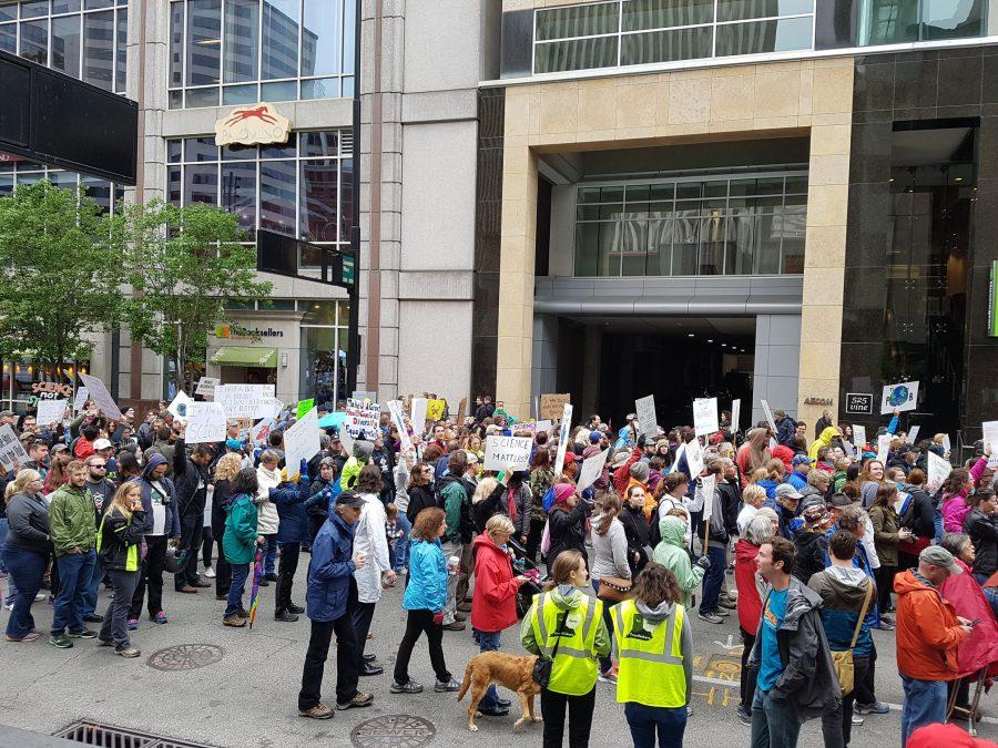 Cincinnati marches for science
