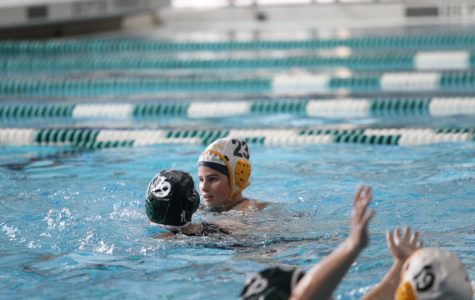 """FINAL.""""I am so happy that I got the opportunity to play with my water polo family. I love these girls so much and we have a strong community. I am so excited for state and know we will rock it!"""" said senior Meegan Gould."""