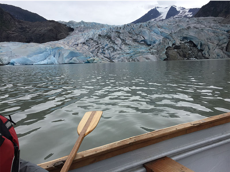 GOING%2C+GOING%2C+GONE.+Glaciers+like+the+pictured+Mendenhall+are+rapidly+retreating.+This+is+due+to+climate+change.+%E2%80%9CThe+ice+has+thinned+and+melted+back+more+than+2000+meters+since+it+was+first+measured+in+1911%2C%E2%80%9D+said+Gary+Braasch%2C+an+environmental+photojornalist.%0APhoto+courtesy+of+Tribune+Services.+