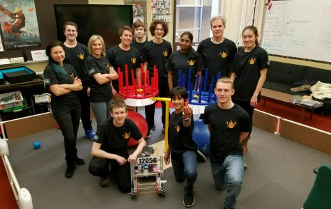 COMPETITION. The Robotics Team has been working on their current robot since September. They need to be prepared for the new course this year when the competition season starts.