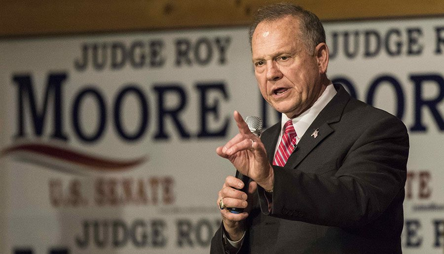 SPEAK UP. One women claiming Roy Moore assaulted her, Leigh Corfman, alleged that he assaulted her when she was 14 years old. Other women came forward, some also minors when they say the assault happened. Various news sources speculate that the allegations turned voters to Doug Jones.