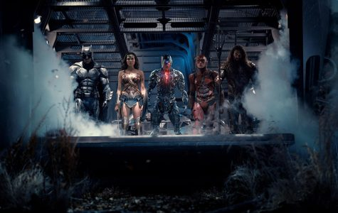 """TEAM UP. Batman, Wonder Woman, Cyborg, Flash, and Aquaman come together in """"Justice League."""" The movie was far from a box office hit, but it does provide a good time. Despite some plot quandaries, the character moments pull through to save the day."""