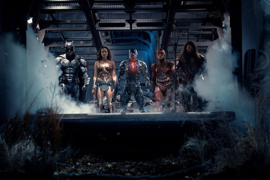 "TEAM UP. Batman, Wonder Woman, Cyborg, Flash, and Aquaman come together in ""Justice League."" The movie was far from a box office hit, but it does provide a good time. Despite some plot quandaries, the character moments pull through to save the day."