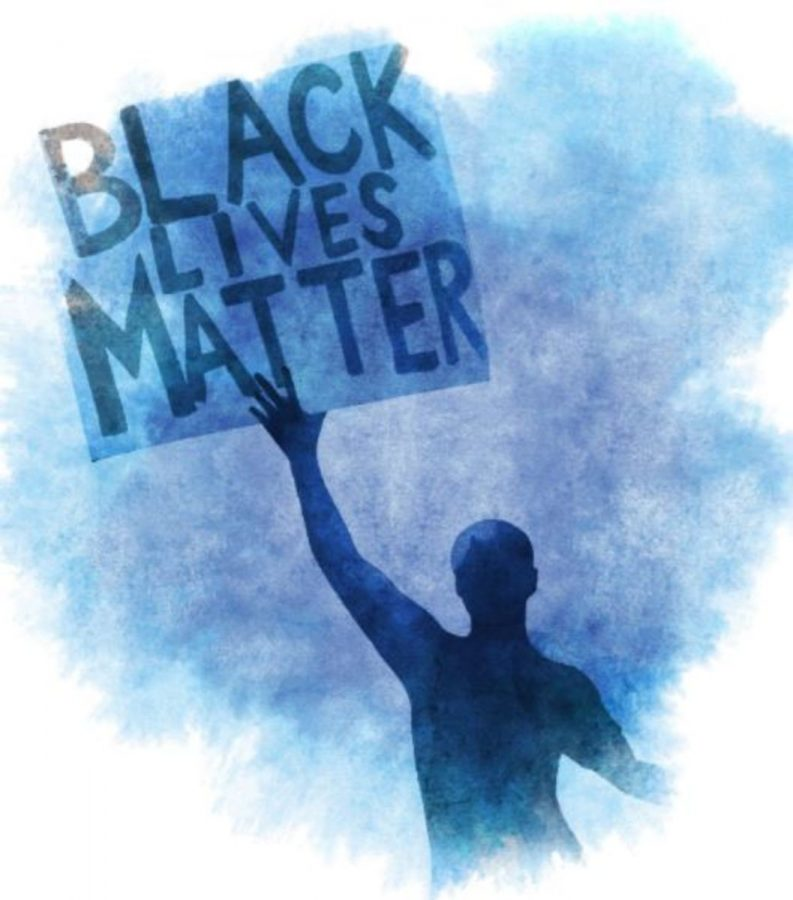 RACIAL TENSION. One of the community members who came to the board meeting wore a shirt with the phrase 'Black Lives Matter' on the front. The person told The Enquirer that they received many looks of disgust. This once again hints at the racial tension that is building within our neighboring community.