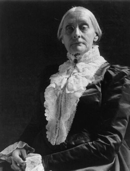 EQUALITY. As the world fights for equality Susan B Anthony paves the way towards fair rights. Anthony grew up in a family that taught her to fight for what she deserved. This thinking lead her to be the woman she was and eventually one of the reasons why women have the right to vote.