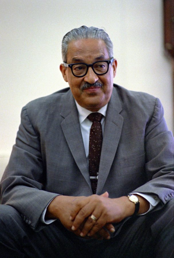 GROUNDBREAKER. Marshall served as an Associate Justice on the United States Supreme Court from October 1967 until October 1991. During his long career, Marshall consistently fought for civil rights and challenged institutional racism. He voted in the landmark 1973 case Roe v. Wade as well as Furman v. Georgia.