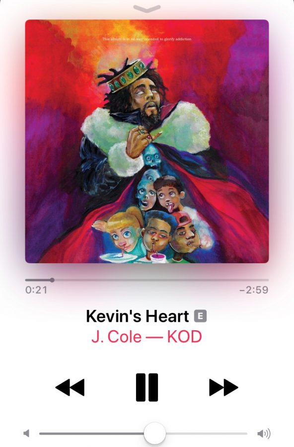 "KEVINS HEART. 'Kevin's Heart was one of the more popular songs on the album. There is a music video for the track on Youtube. ""I think the message and quality of the song was the highlight of the album,"" said Nick Bruggeman, 9."