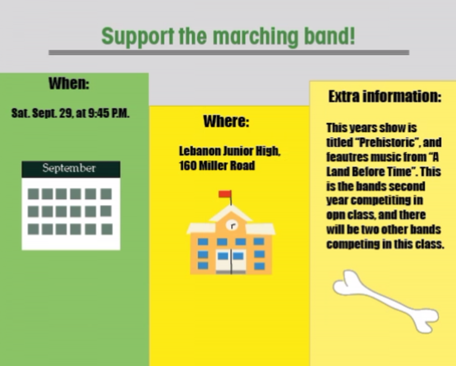 Support the marching band