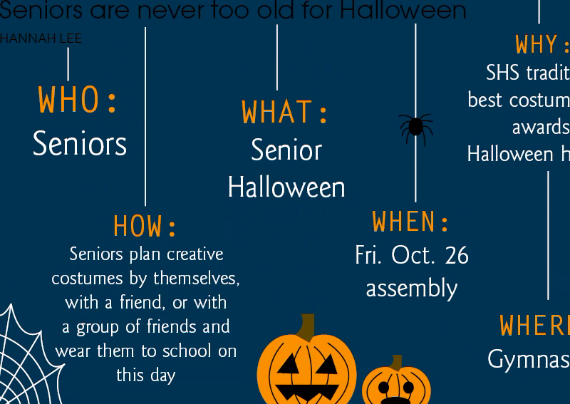 Seniors are never too old for Halloween