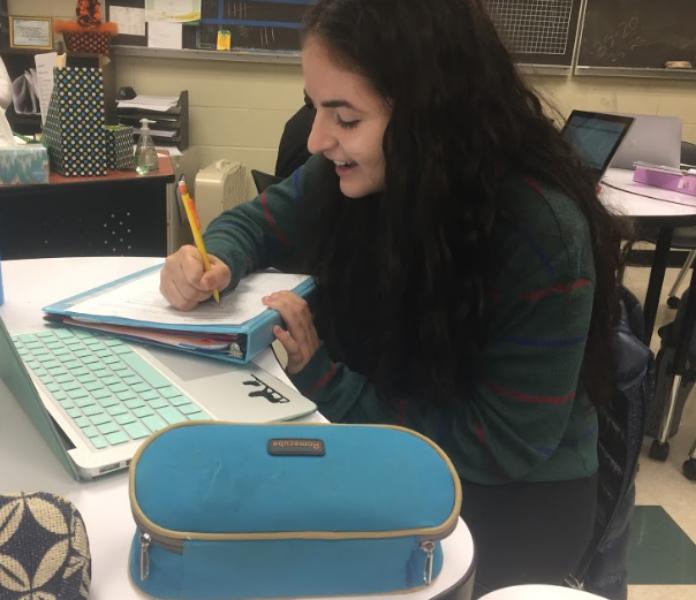 Sarah Guedira, 12