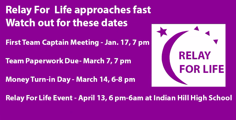 Relay For Life approaches fast