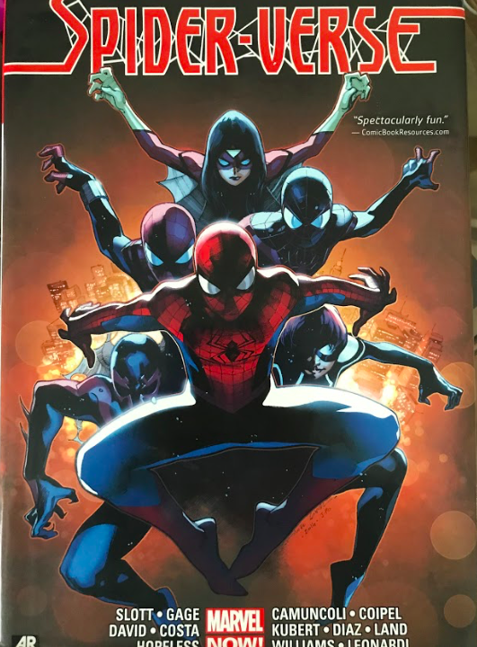 """THWIP. The plot of the Spider Verse movie is very different when compared to its comic book origin. In the comics, the Spider-men worked together to stop vampires called the Inheritors that would feed of the essence of Spider-men. """" I hope they might expand the cast of Spider-men in the next movie, if they even make one,"""" said Gus Fredenburg 10."""