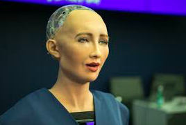 """MY NAME IS SOPHIA. The Artificial Intelligence (AI) technology has advanced to the creation of robots like Sophia who can speak, interact and even mimic human expressions. The mini version of this has been made available by the company Hanson Robotics. """"The development of Sophia is in itself an amazing achievement in the field of robotics,"""" said Aryan Vaidya,10."""