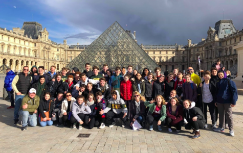 """ADVENTURE. Fondly remembered by those who have been on it, the AP Euro trip journeyed to France and Italy over spring break. Activities included sightseeing major tourist attractions such as the Eiffel Tower and living out the true italian experience on a gondola in Venice. While each city was thoroughly enjoyed, many students had a favorite out of the five visited. """"My favorite city on the trip was Venice. It is a beautiful city and I loved just walking around with my friends and a cone of gelato by the canals and winding streets,"""" said Reagan Becker, 10."""