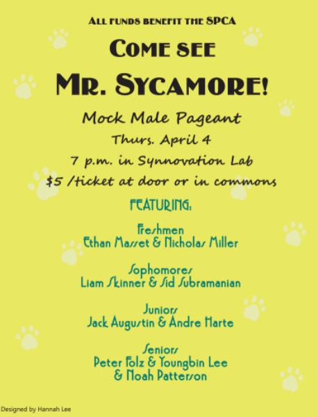 Come see Mr. Sycamore
