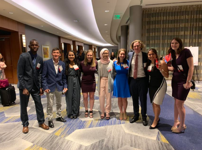 COCA-COLA SCHOLAR. Senior Shayna Kling attended the Coca-Cola Scholar Banquet in Atlanta, Georgia. Kling is this year's only Coca-Cola Scholar from SHS.