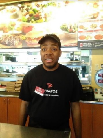 HARD AT WORK. Sanford Reese works at Donatos Pizzeria in Blue Ash after graduating from the SHS Transition Internship Program in 2018. He is a proud graduate who is admired for his hard work and self-sufficiency. Sanford has many hobbies including basketball and drawing.
