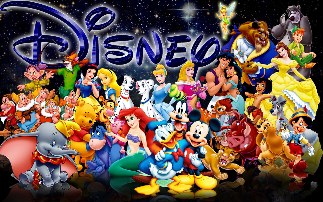 DISNEY. Many of these characters pictured above are featured on Disney Plus.  They appear in TV shows and movies that were aired a long time ago, but that doesn't mean they are not popular anymore!