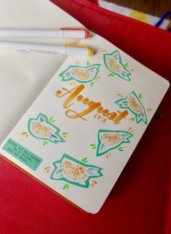 Calligraphy combats high school stress
