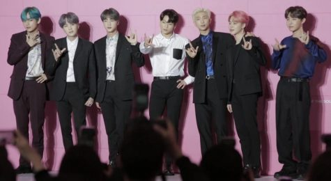 "MAP OF THE SOUL. Bangtan Sonyeondan, better known as BTS, released their latest album 'Map of the Soul: 7' on Feb. 21. With a total of 20 tracks, the album has 15 new ones and five old ones from their last album titled 'Map of the Soul: Persona.'  The album is the ""darkest, strangest and yet most relevant and ambitious music BTS has made yet,"" according to LA Times."