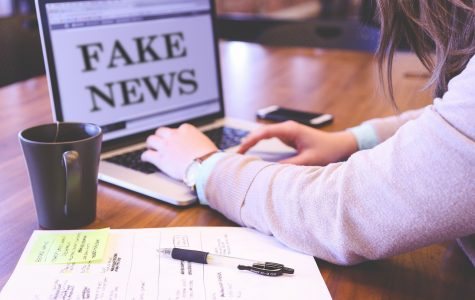 CAPTION: FAKE NEWS. As social media progresses and expands, teenagers are more exposed to fake news than ever. And in the current COVID-19 era, this could mean a lot of trouble.