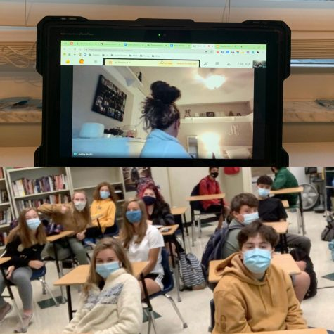 VIRTUAL VS. F2F. With this one week being the first week of virtual school for a lot of the student body adjustments are being made. While some students prefer the virtual schooling option over face to face, others are struggling. Some like the freedom of virtual school while others prefer the routine of face to face.
