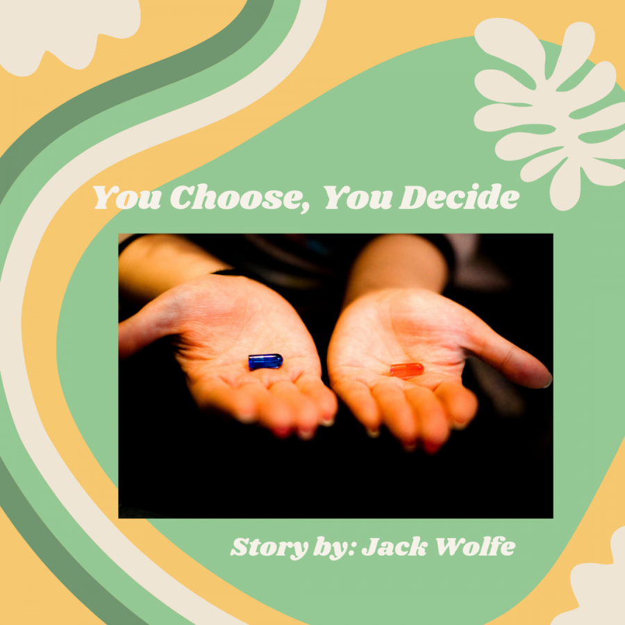 CHOICE IS YOURS. With decades of linear storytelling ending in only one result, what if we were able to decide how the story went. As video games are seeming to take more and more from the cinematic playbook, the opposite appears to have happened. This now allows viewers to make essential and impactful decisions in the movies/television they watch, allowing them to have a unique experience compared to other viewers.