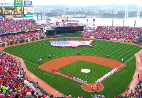 As opening day gets underway, the Cincinnati Reds play the St. Louis Cardinals at home and get set for the long season ahead. With the division being up for grabs this year, the Reds look to build off of last year and achieve the ultimate goal of the World Series Championship.  Photo courtesy of Creative Commons