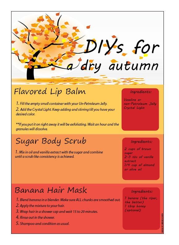 DIYs for a dry autumn