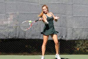 Girls gold tennis wraps up season