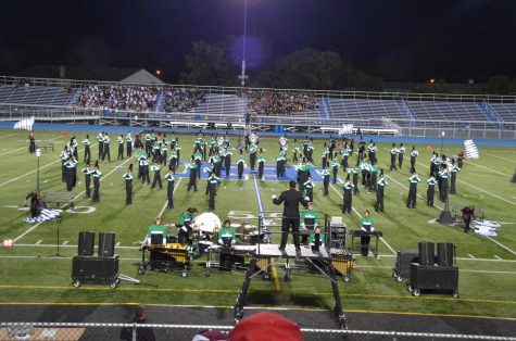 Marching Band hits a high note