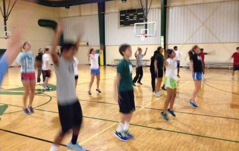 Tennis teams experience conditioning