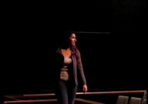 Overtures worth points: Students prepare monologues, songs