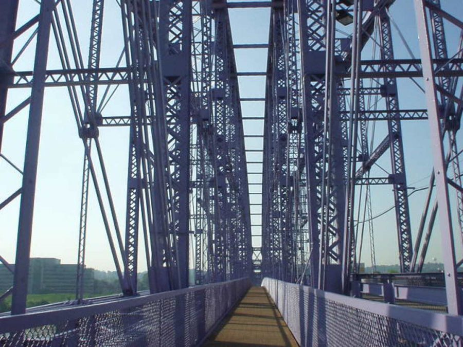The Purple People Bridge is the longest connector bridge of its kind in the United States linking two states together. Local residents frequently travel along this bridge. However, it was not until recently people have started noticing the locks.