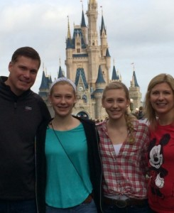 Kayla Kramer, 10 goes to Disney World with her family over New Years. She gets to see all of her cousins and enjoy the warm weather. Photo courtesy of Kayla Kramer.