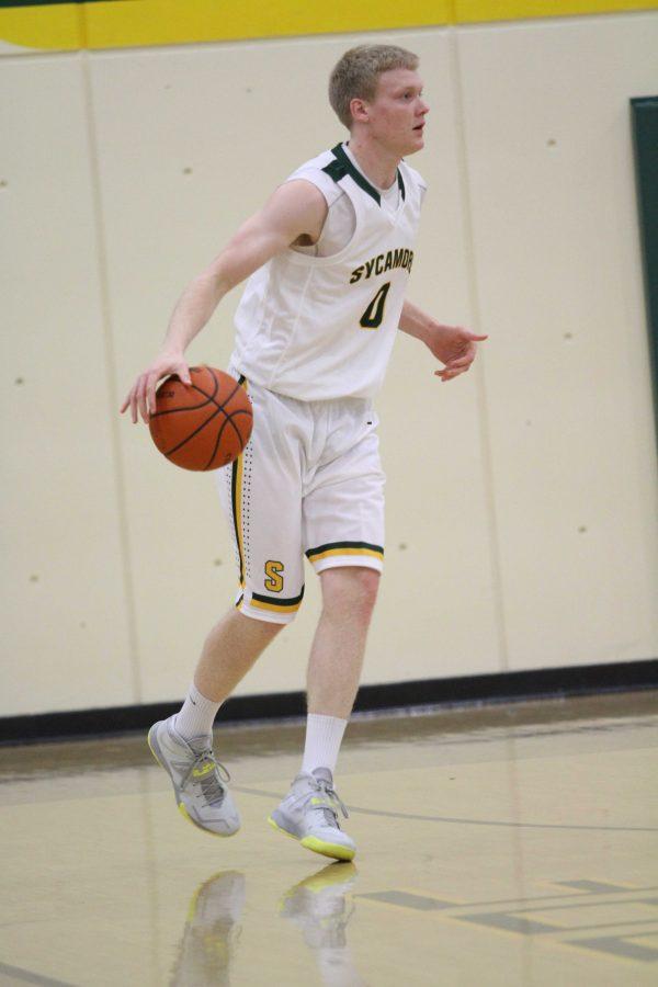 Boys basketball rebounds