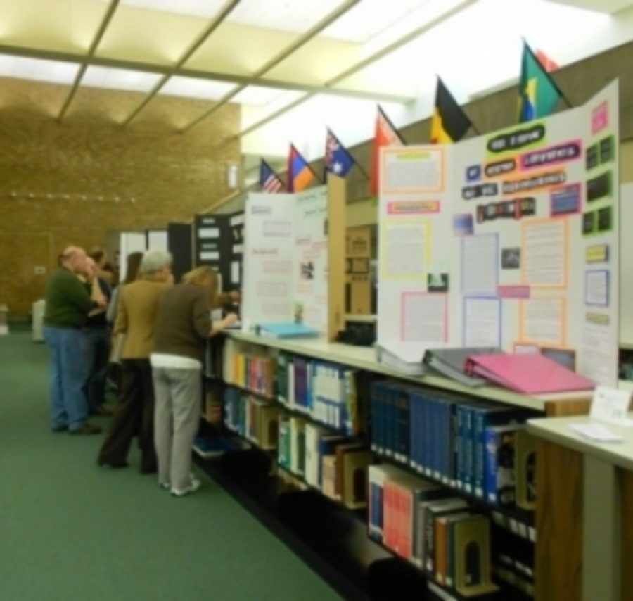 Science Fair is another activity which students participate in. Students who do well the first round move on to the next round. Participants are excited and determined for the upcoming activities. Photo Courtesy of Astrid Cabello.