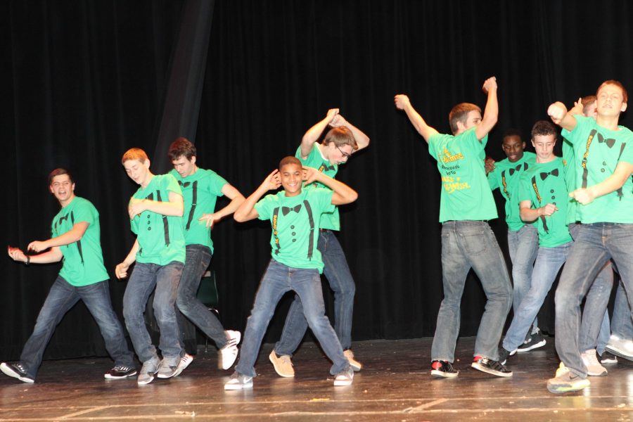 Mr. Sycamore is an annual charity event on February 28 at 7:30 pm in the little Theatre. The tickets cost $4  in advanced and $5 on the night of the event. Ten boys will participate in raising money for Operation Give Back. Photo Courtesy of McDaniels Photography