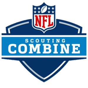 The NFL Scouting Combine is an event where the top prospects in the upcoming draft class participate in different drills. These drills try to showcase their individual talents to scouts and coaches from all over the league. They compete in drills like bench press, 40 yard dash and catching balls.