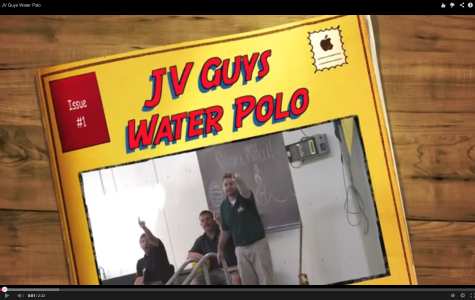 JV Guys Water Polo Team