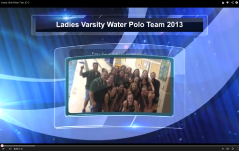 Varsity Girls Water Polo 2013