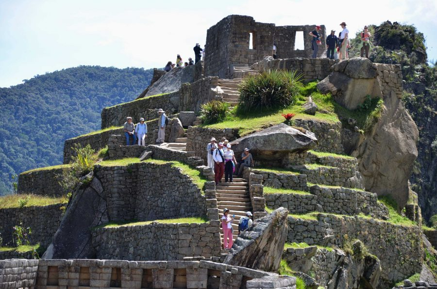 One of the most anticipated sites on the trip is Machu Picchu. The ruins are located 7,000 feet above sea level in Andean Mountain Range. SHS students will be traveling to the top of the mountain on day three of their journey to Peru. Photo courtesy of MCT photo.