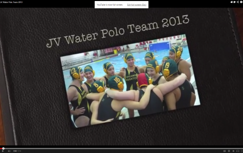 JV Ladies Water Polo Team
