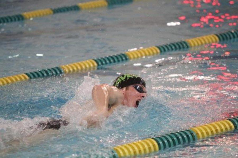 Swimming to end a season