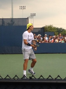 Players like world number one Rafael Nadal come to Cincy each year to compete at the Lindner Family Tennis Center. Photo Courtesy of Alex Wittenbaum